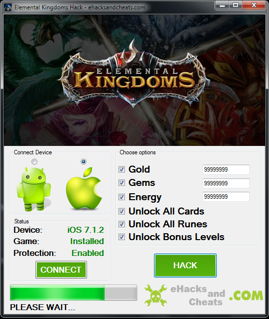 Basic Kingdoms.Elemental Kingdoms Hack Tool you add to your record ...