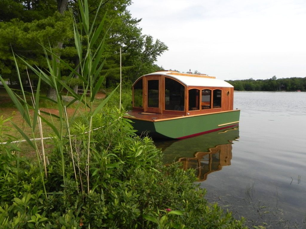 Small Houseboat the river den This Little Beautiful Boat House Is A Wonderful Representation Of Small Footprint Big Life Living