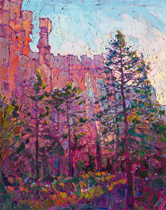 Bryce Canyon Landscape Oil Painting In A Modern Impressionist Style Landscape Paintings Oil Painting Landscape Landscape Artist