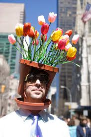 5th avenue easter parade -flower pot hat