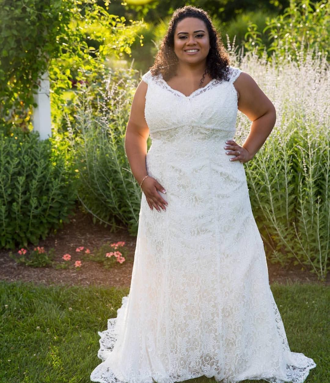 Cap sleeve plus size wedding gowns like this can be totally cap sleeve plus size wedding gowns like this can be totally customized to your personal taste ombrellifo Gallery
