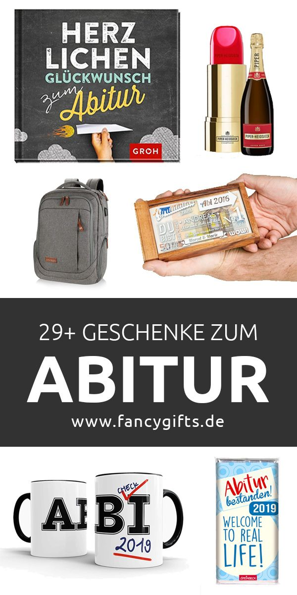 30 Geschenke zum Abitur | fancy gifts | Geschenk abitur