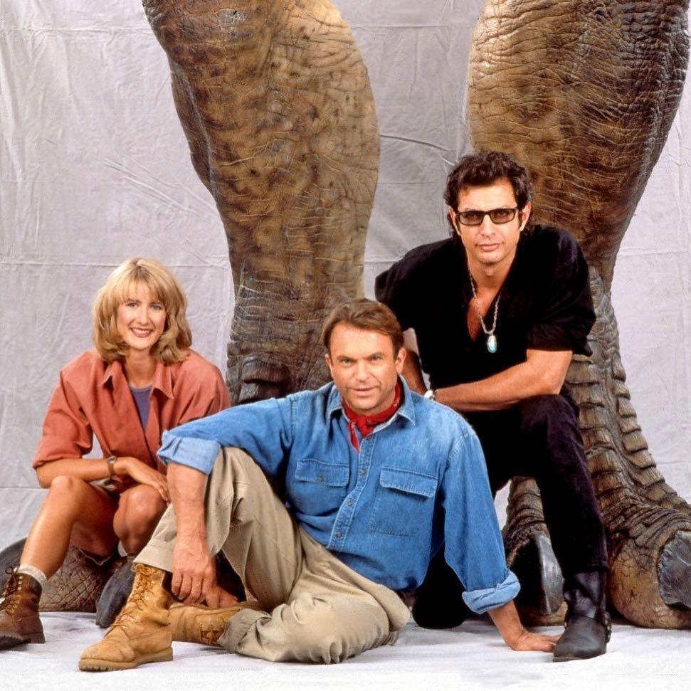 """Amblin Road on Instagram: """"The Big 3 from Jurassic Park (1993)."""" #jurassicparkworld"""