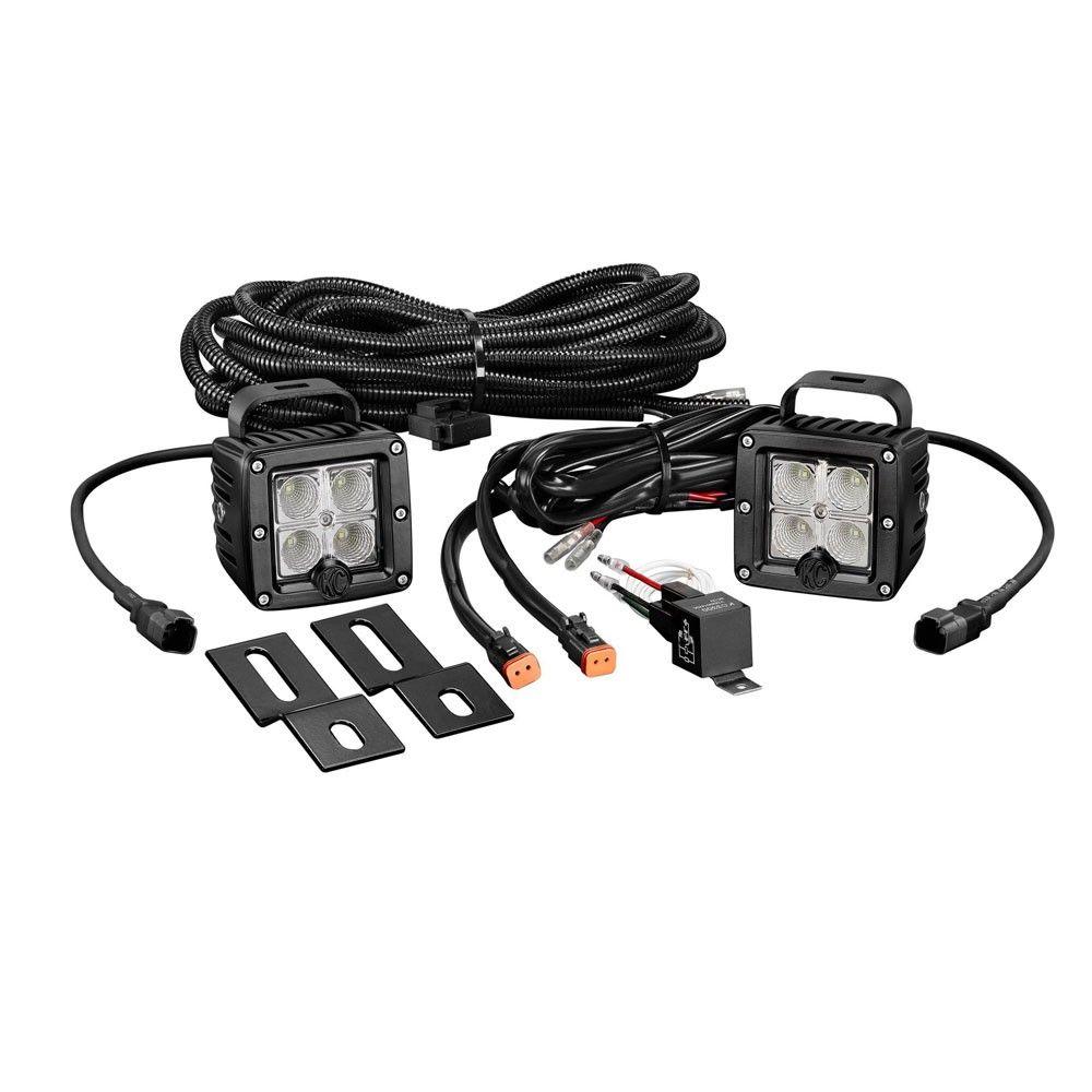 Kc Hilites Led Backup Light Kit C Series Clear Jeep Wrangler 2007 Wiring Harness 2017