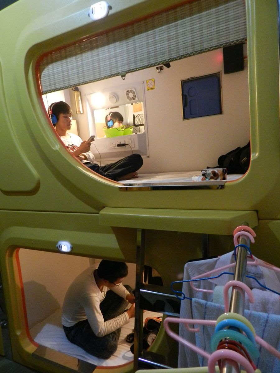 """capsule"" Hotel Highly Welcomed In China' Xi' - Xinhua"