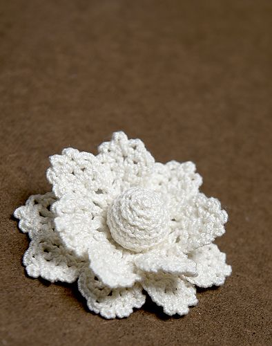 Ravelry Anemone Flower Pin Pattern By Alla Koval Crochet Flowers