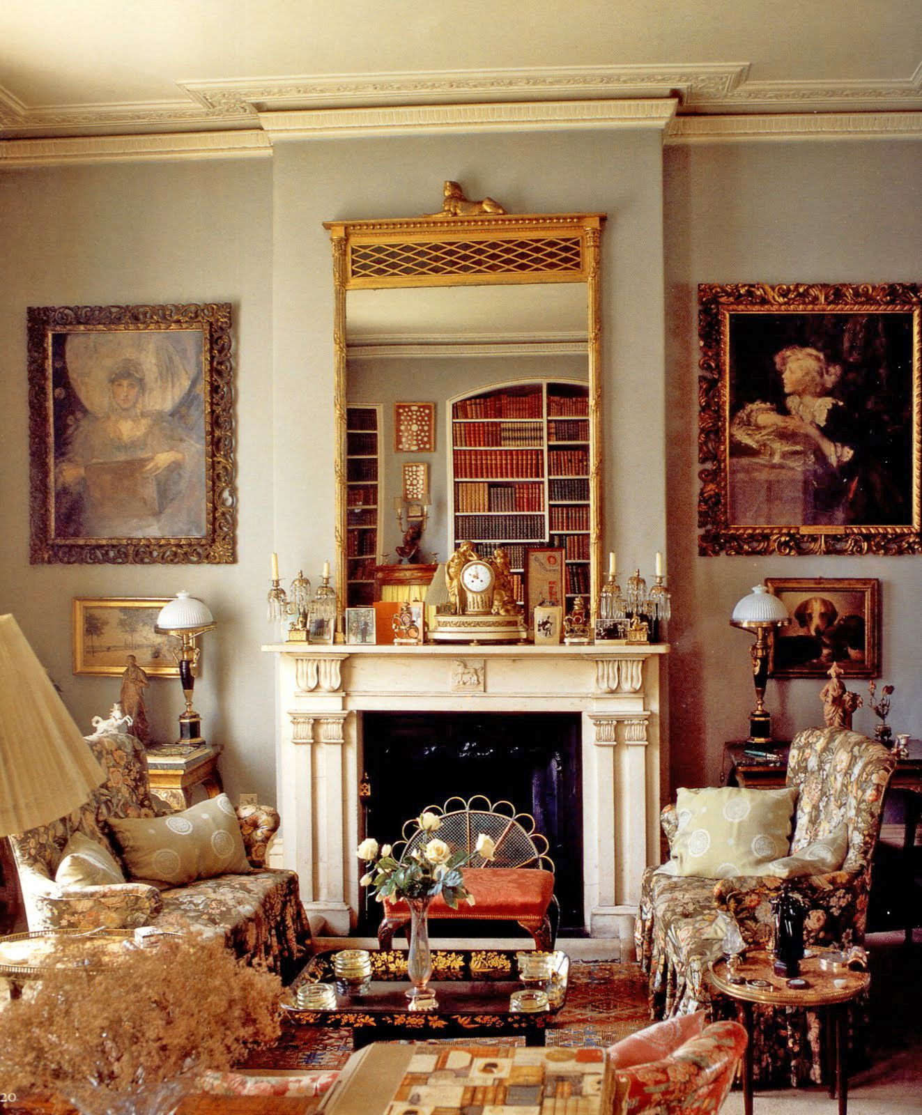 Drawing Room Of Lady Diana Cooper