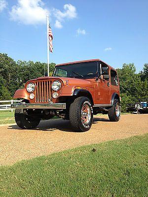 1983 Jeep Cj7 Limited Rare Jeep Cj Jeep Cj7 Vintage Jeep