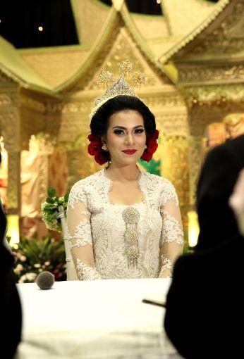 Sanggul Jawa Tanpa Paes Pernikahan Sanggul Bunga