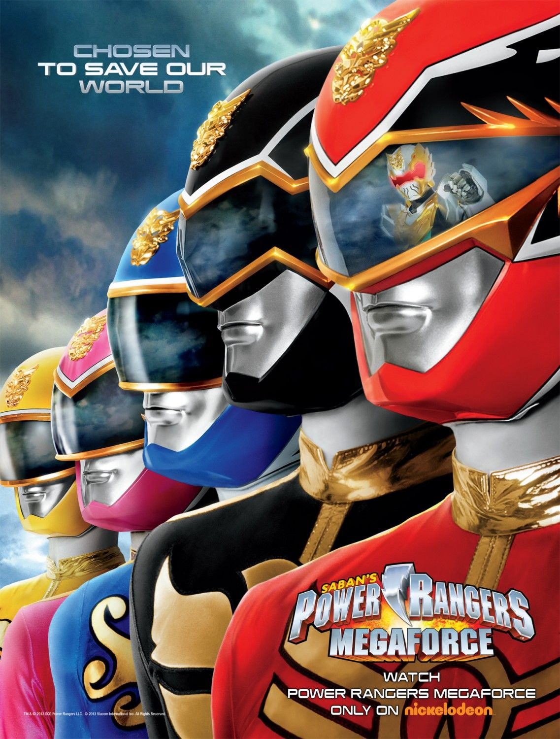 Return to the main poster page for Power Rangers Megaforce ...