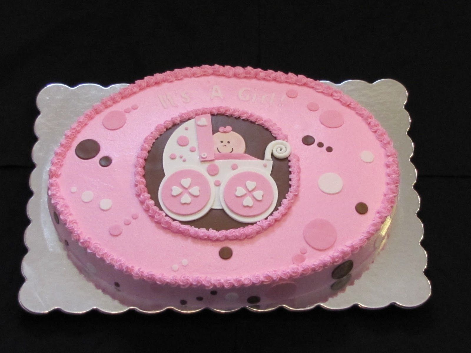 Baby Girl Cakes For Baby Shower