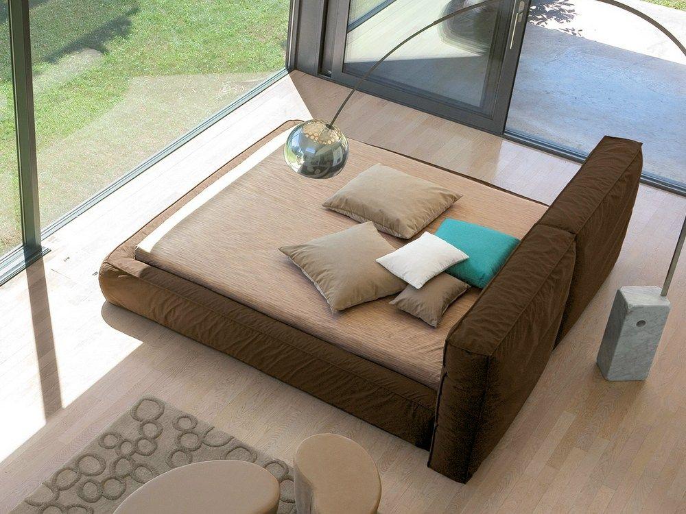 cama estofada com estojo removÍvel fluff by bonaldo | design mauro, Badezimmer