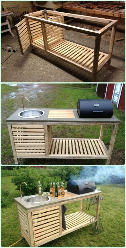 Diy The Perfect Bbq Grill Instruction Diy Backyard Grill Projects Outdoor Kitchen Outdoor Sinks Outdoor Kitchen Design