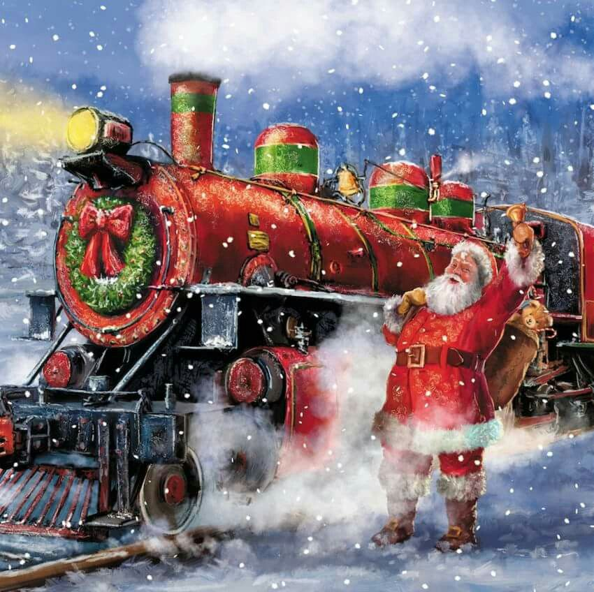 Ho Christmas Train.Ho Ho Ho Merry Christmas This Christmas Father