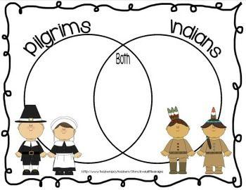 Enjoy this venn diagram i made to help my students compare and enjoy this venn diagram i made to help my students compare and contrast pilgrims indians kindergarten ccuart Gallery
