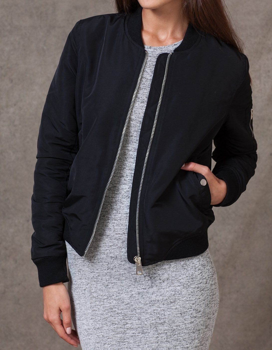 Veste en cuir femme stradivarius