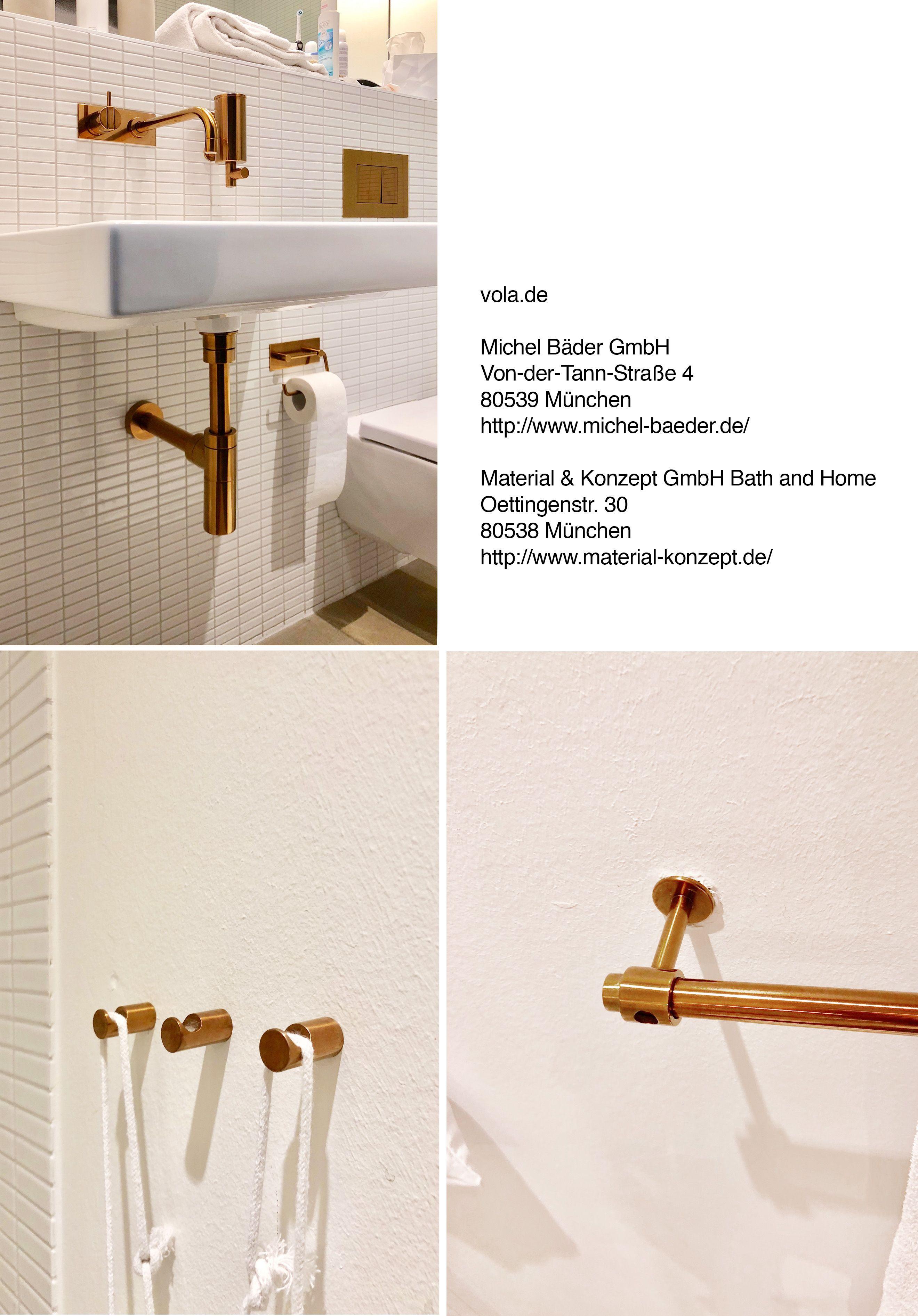 Vola De Kupfer Armaturen Und Handtuchhaken Gefunden In Hotel The Flushing Meadows Badezimmer Armaturen Handtuchhaken