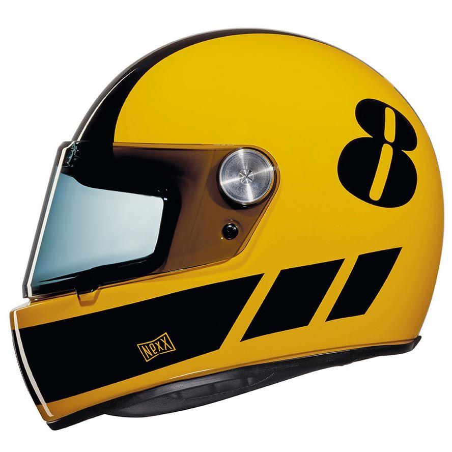 Le Casque Nexx Xg100 Racer Billy B Yellow Black Est En Vente Sur