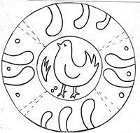 Jugar Y Colorear Dibujos Para Colorear Dia De Andalucia Dia De La Cruz Platos De Ceramica
