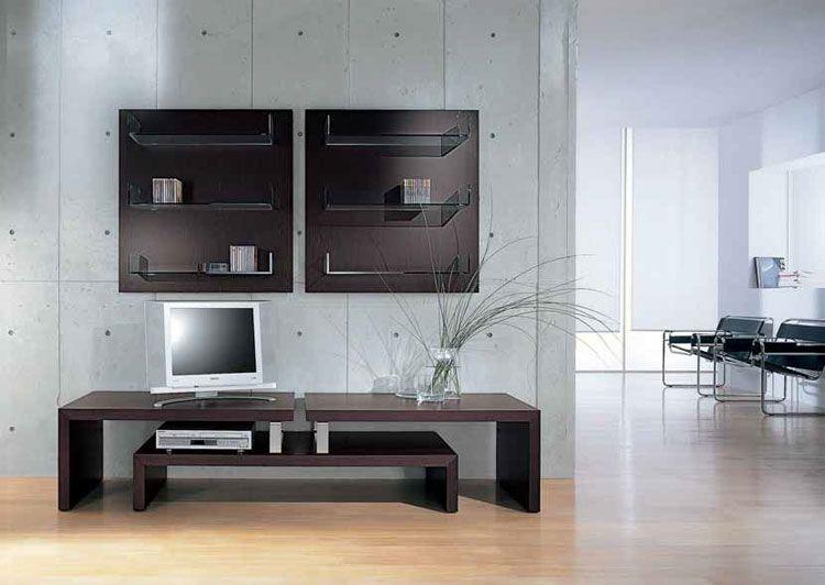 Mobile porta Tv dal design moderno n.37 | Arredare living | Pinterest