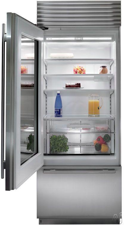 Sub Zero Bi30ug 30 Built In Bottom Freezer Refrigerator