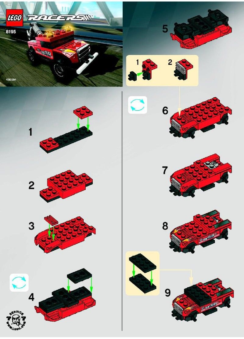Racers Turbo Tow Lego 8195 Kyles Choice Pinterest Lego