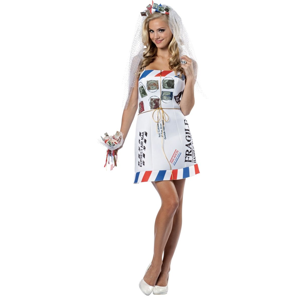 mail order bride adult costume womens funny costumes free shipping - Clever Women Halloween Costumes