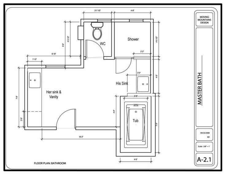 Master Bath Layout Bedroom Bathroom Floor Plans Masters