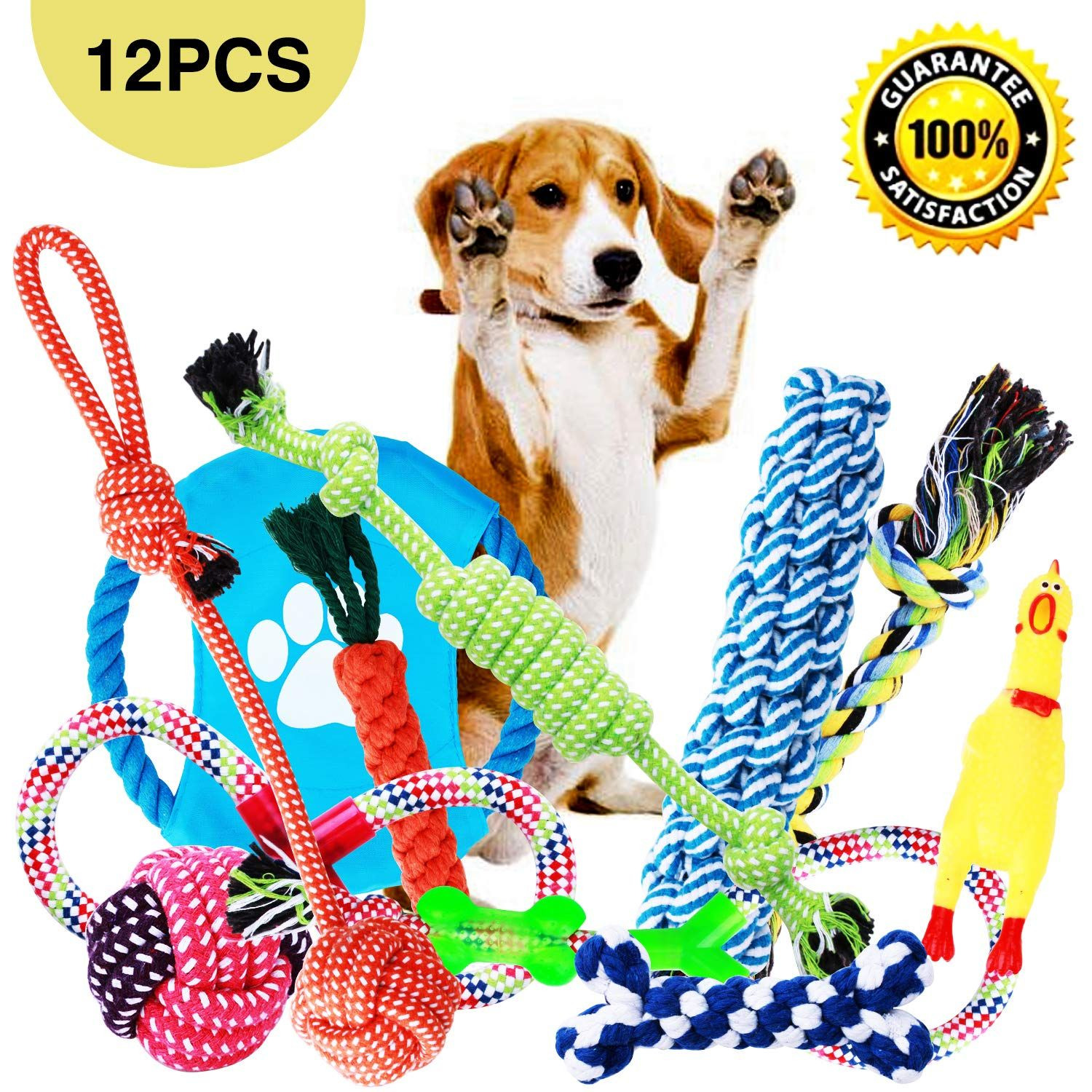 Dog Toys Dog Chew Toys Dog Training Toy Set With Ball Ropes And