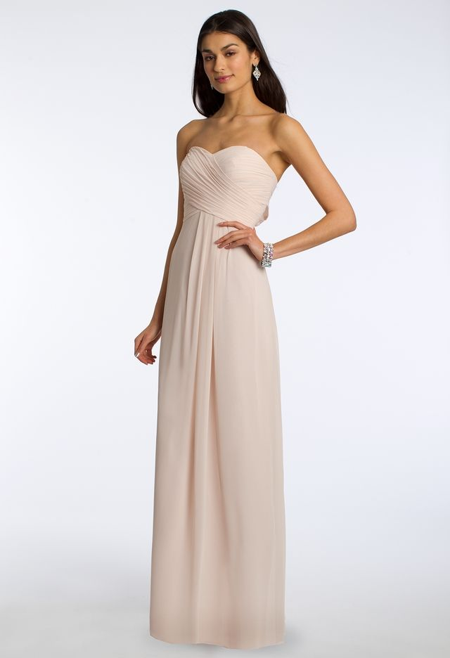 3e8dfe698b8 Strapless Crisscross Bodice Dress from Camille La Vie and Group USA ...