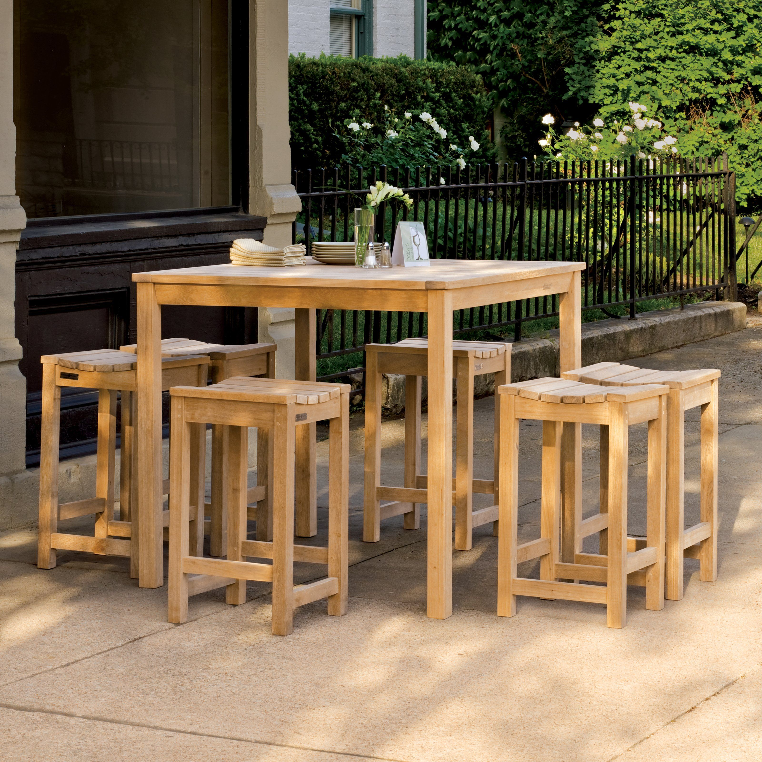 Oxford Garden Hampton Balcony Dining Set   $1372.7 @hayneedle
