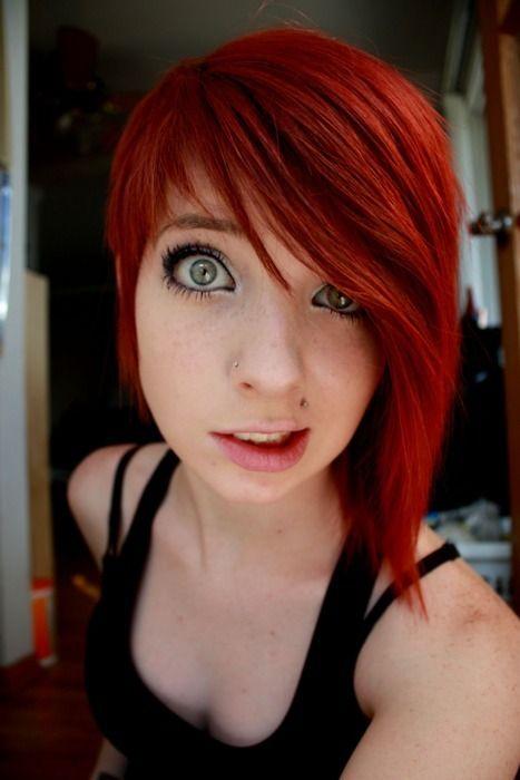 cabello corto rojo - Buscar con Google