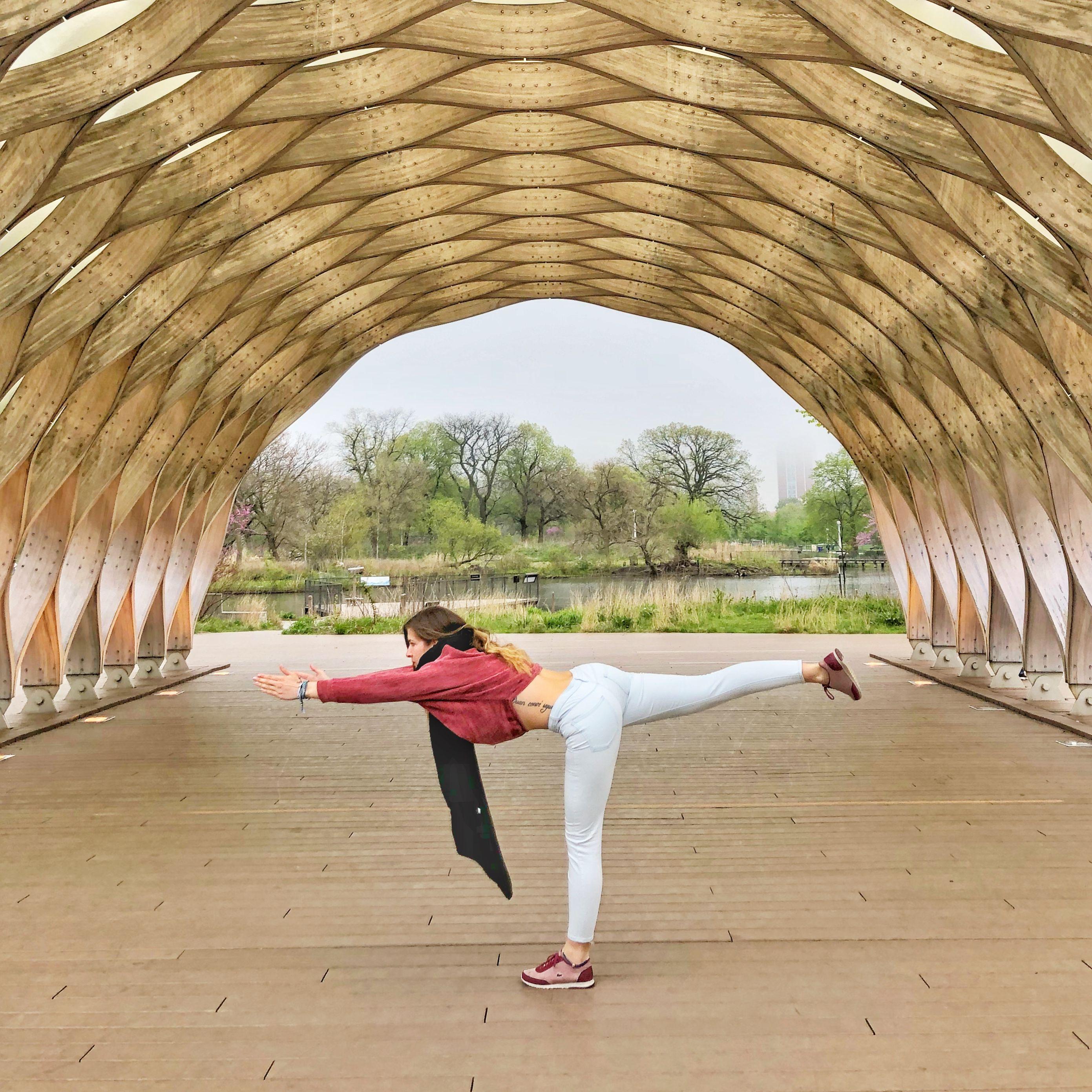 Postureando con yoga