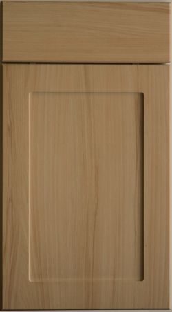 Plain Style Shaker Kitchen Door With A 10mm Rounded Profile In Starnburgh Beech Vinyl Finish
