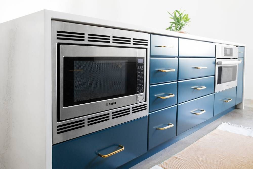 A Bosch Built In Microwave Oven Was Installed We Managed To Squeeze This Into The Kitchen Island As Well Ing Comfortably Aside Steam With