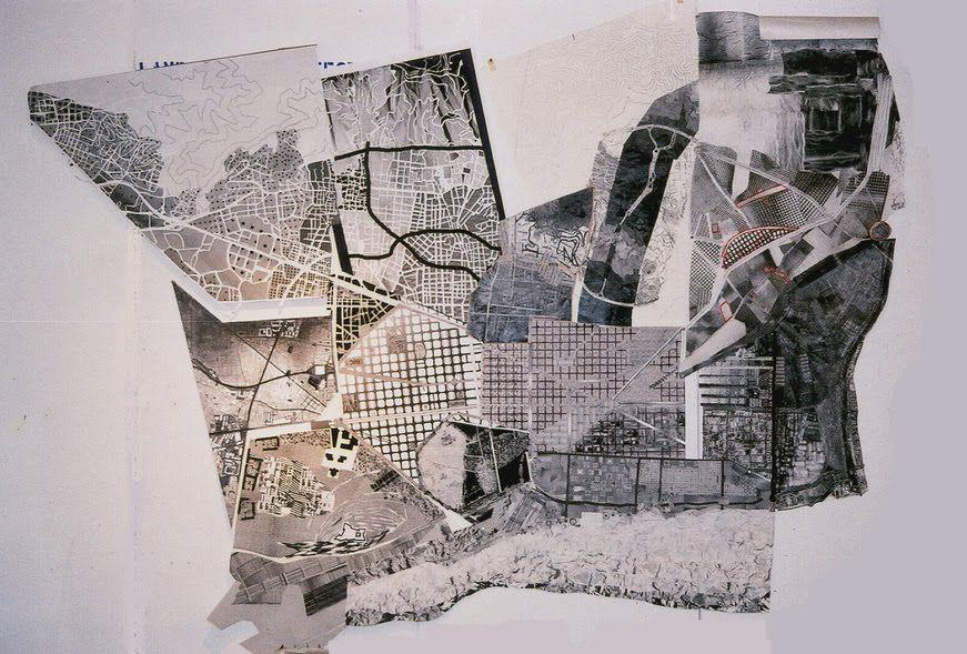 colin rowe ciudad collage urba pinterest mapas cartograf a y arquitectura. Black Bedroom Furniture Sets. Home Design Ideas