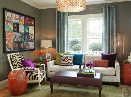 Stylish-mix-and-match-design-trend-for-living-room - Conception de la maison
