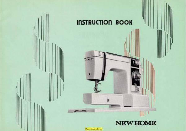 New Home Xl Ii Sewing Machine Instruction Manual Sewing Machine Instruction Manuals Sewing Machine Instructions Sewing Machine