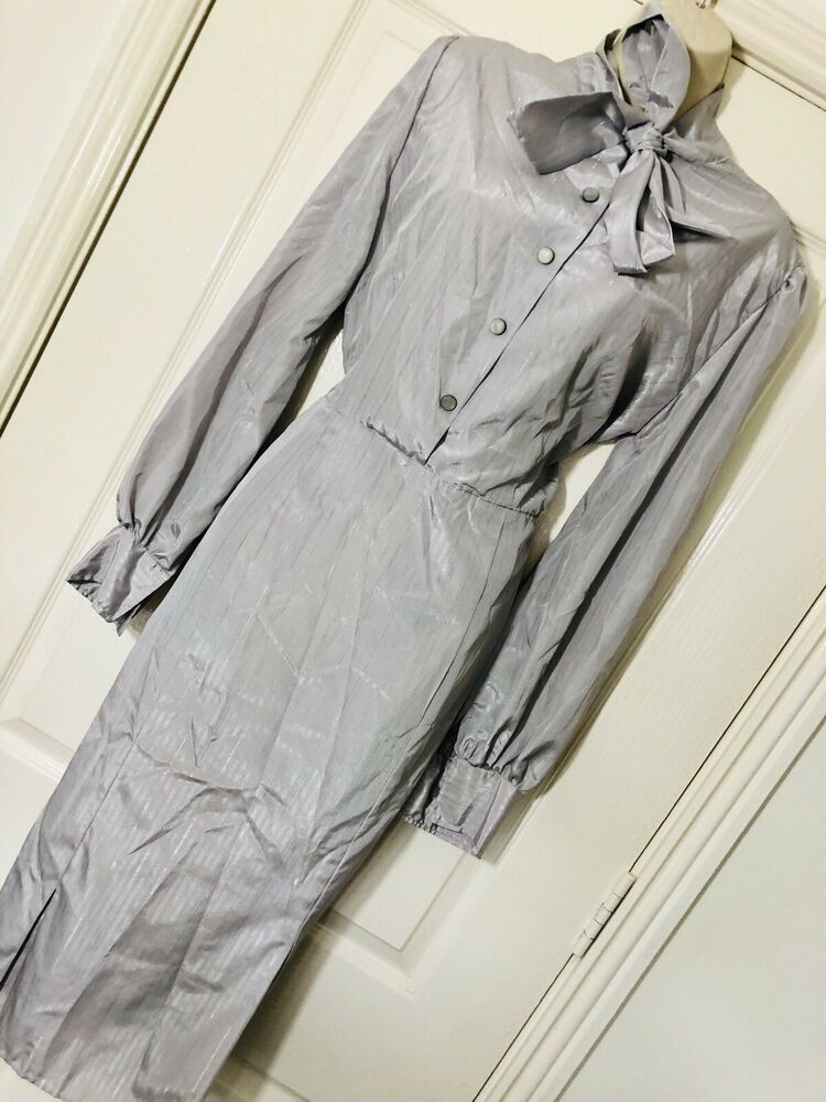 Details About 1980s Shirt Dress Sz 16 In 2019 1980s Dresses For
