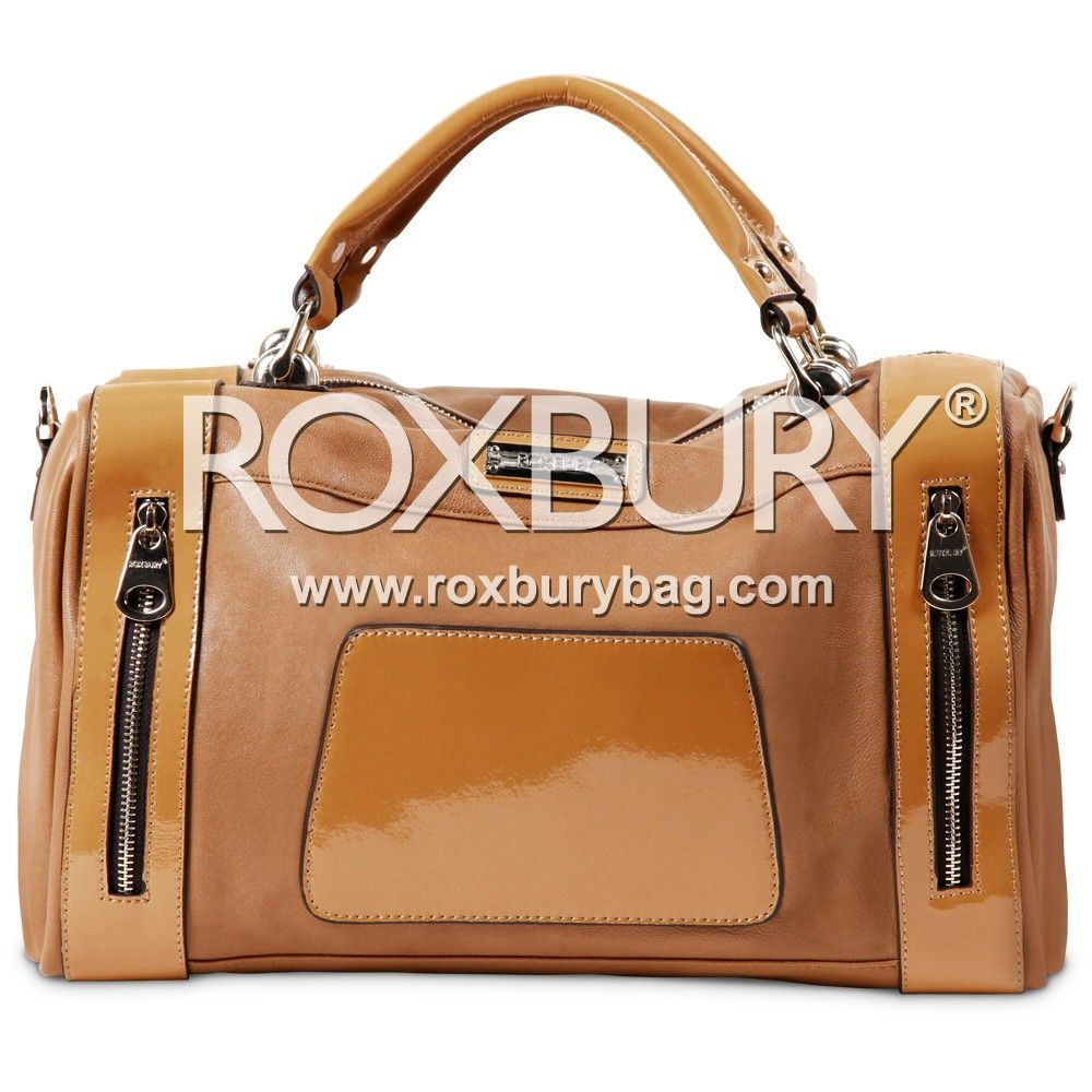 Cyra Two Toned Boston Bag Roxbury Bostonbag Nicolelee