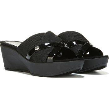 eb9223e126c9b7 Bandolino Women s Donovan Wedge Sandal at Famous Footwear