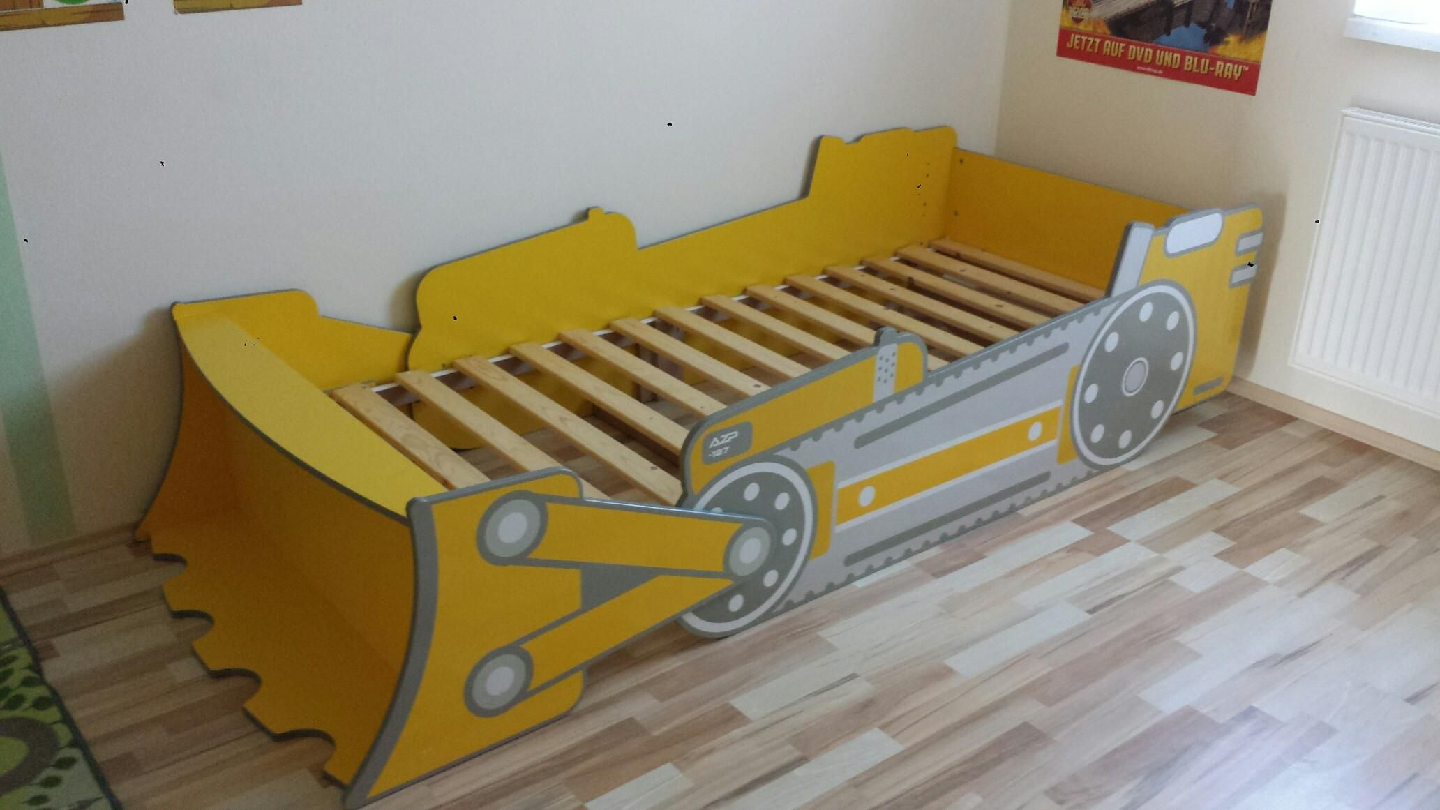 Kinderbett Raumschiff Bagger Bett Kinderbett Pinterest Baby Kids Bed Und Toddler Bed