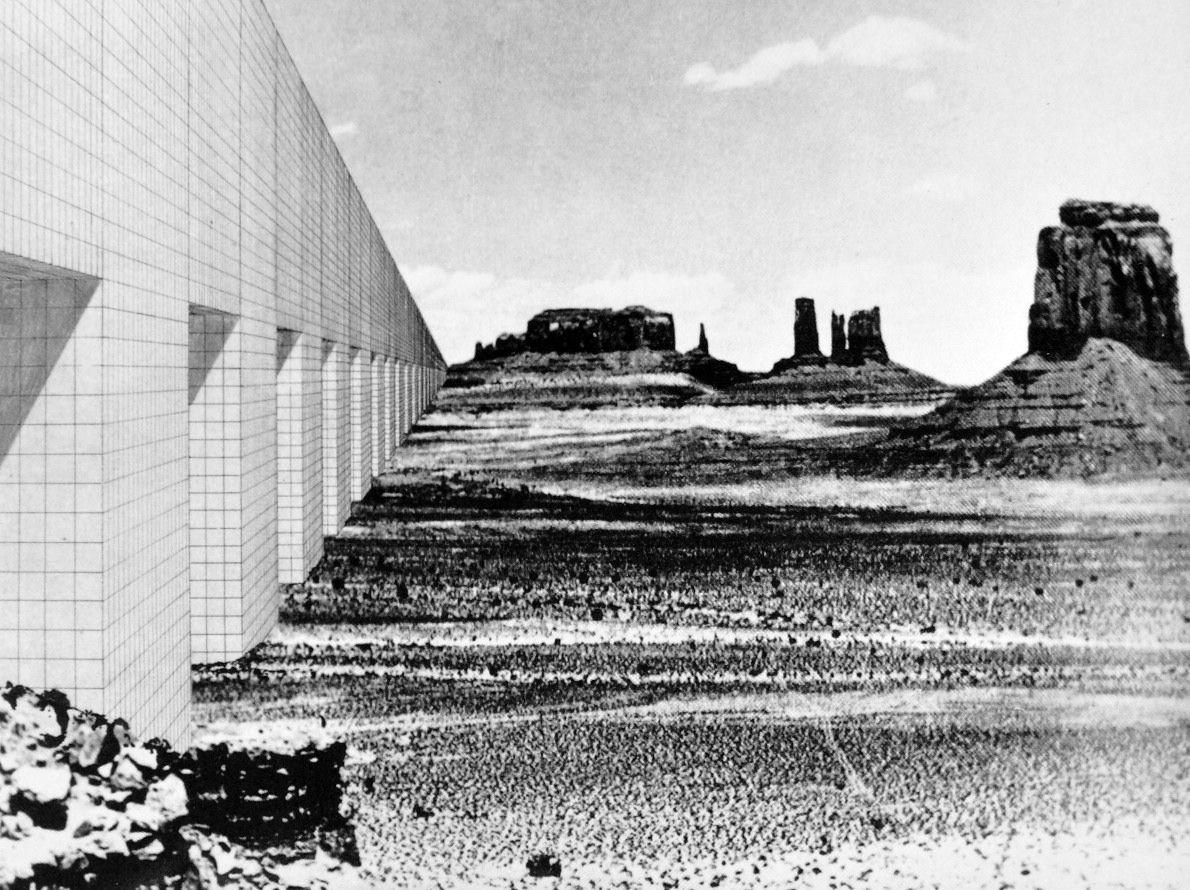 Superstudio Mobili ~ Superstudio monumento contínuo continuous monument on the death