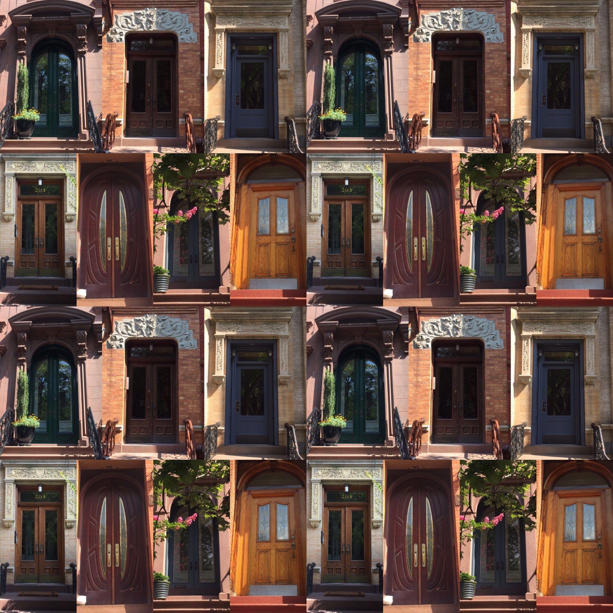 The secret doors of Brooklyn...