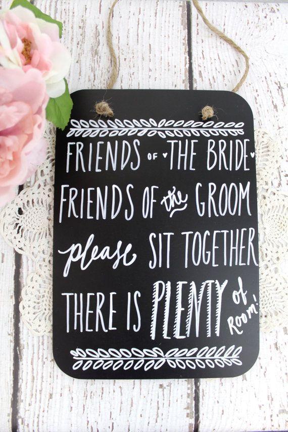 no seating chart wedding sign chalkboard wedding seating sign no