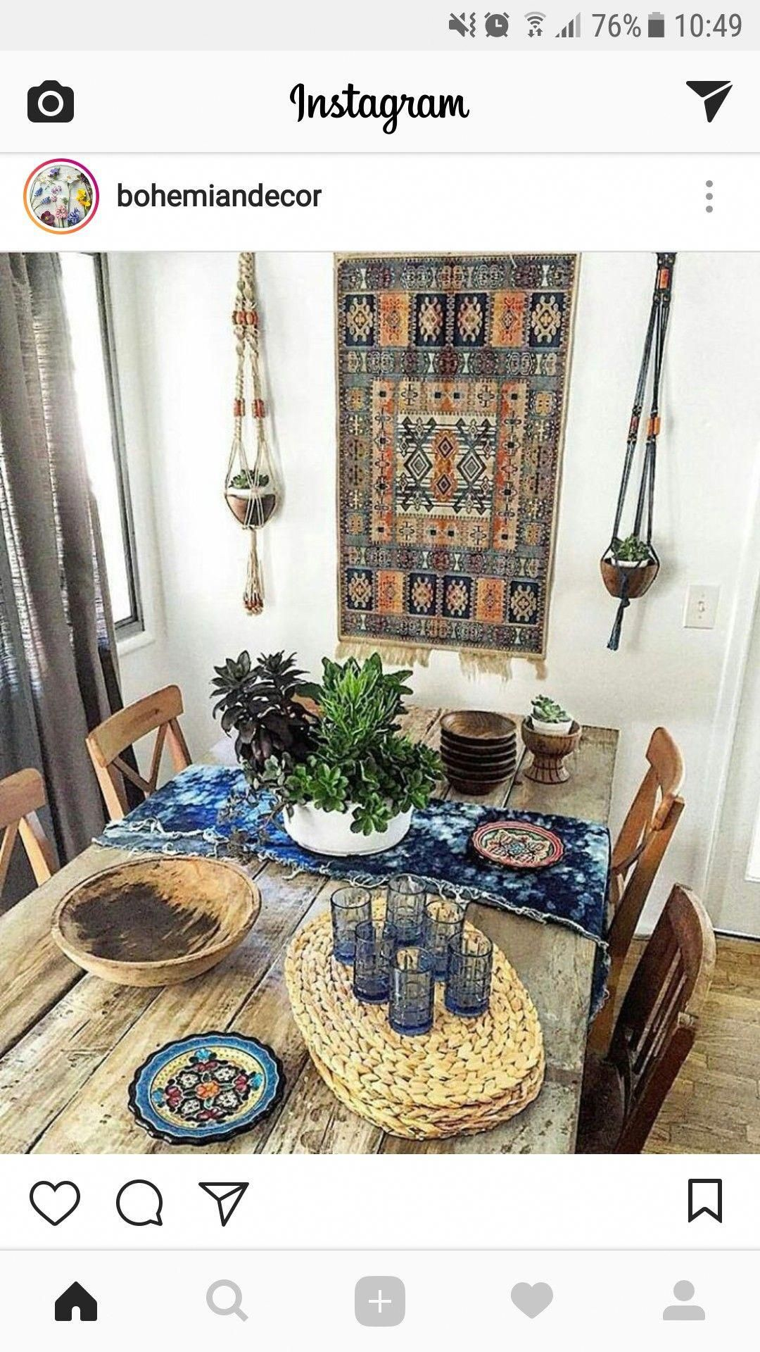 behomianhomedecorideas dining table redo vintage dining room home decor inspiration on boho chic dining room kitchen dining tables id=65145