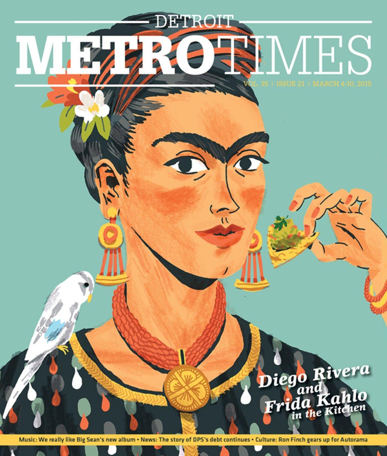 Frida Illustration by James Noellert