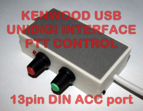 Compatible with ALL KENWOOD with 13 PIN DIN ACC2 JACK  TS-140,TS-440