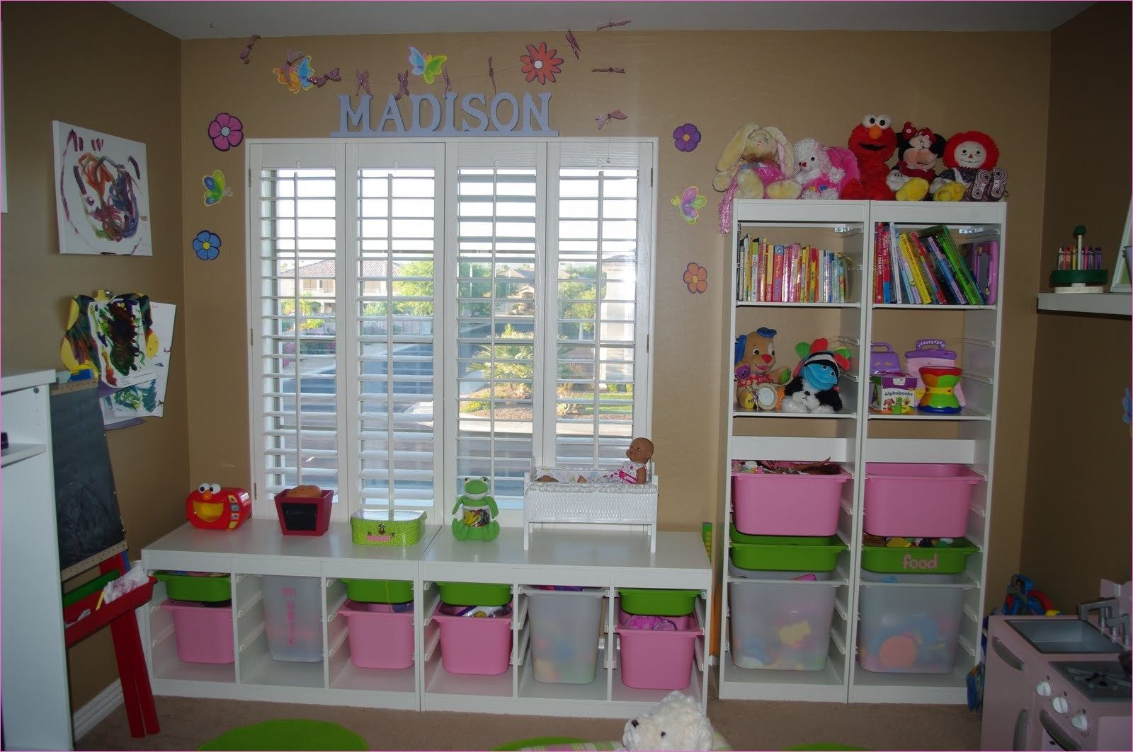10 Diy Toy Storage Ideas For Any Space Small Bedroom Storage Small Kids Room Storage Kids Room