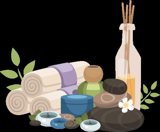 Massage Items Hand And Stone Massage Facial Spa Stone Massage